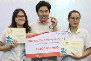 Lần đầu tiên học sinh Việt Nam đạt Huy chương Vàng cuộc thi Nuôi tinh thể Quốc tế IUCr 2018