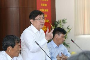 Chủ tịch TP.HCM: 'Xây dựng quận 7 thành đô thị kiểu mẫu'