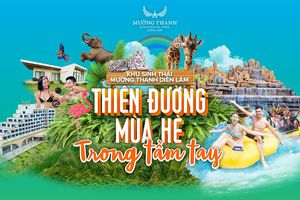 Mở cửa công viên nước lớn nhất Nghệ An: Chào hè với chương trình giảm 30% giá vé
