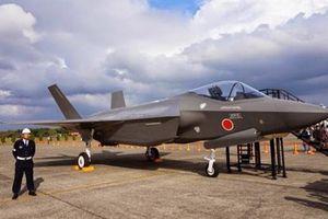 F-35 Nhật rơi là chiếc đầu tiên tự lắp ráp