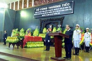 Cử hành trọng thể Lễ truy điệu Trung tướng Đồng Sỹ Nguyên