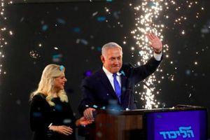 Ông Netanyahu dẫn đầu trong cuộc bầu cử Israel