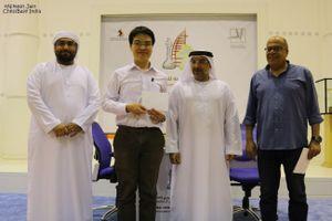 Lê Quang Liêm về đích ngoạn mục ở Dubai Open