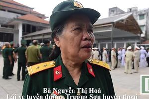 Nữ lái xe Trường Sơn nhớ lại 'lời xin lỗi' của Trung tướng Đồng Sỹ Nguyên