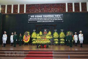 Lãnh đạo Đảng, Nhà nước viếng Trung tướng Đồng Sỹ Nguyên
