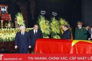 Lãnh đạo Đảng, Nhà nước dâng hương viếng Trung tướng Đồng Sỹ Nguyên