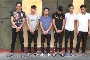 Bắt tạm giam 6 đối tượng tổ chức 'tiệc ma túy' trong quán karaoke