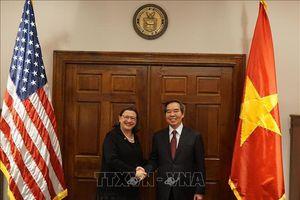 Đoàn đại biểu cấp cao Đảng Cộng sản Việt Nam thăm và làm việc tại Hoa Kỳ