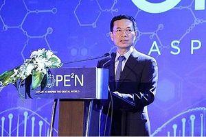Bộ trưởng Nguyễn Mạnh Hùng: 'Năm 2019, Việt Nam sẽ tuyên bố chiến lược chuyển đổi số quốc gia'