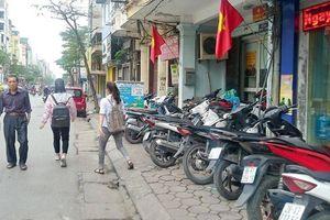 Đề xuất lắp camera phạt nguội lấn chiếm vỉa hè ở Hà Nội