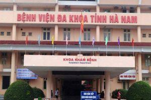 Bắt tạm giam 5 bác sĩ, nhân viên Bệnh viện đa khoa tỉnh Hà Nam