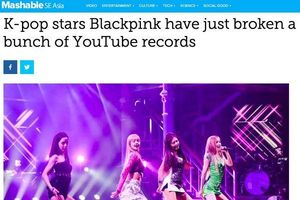 Chuyện chỉ Blackpink làm được: Nhóm nhạc giải trí mà 'chiếm sóng' cả loạt trang về công nghệ