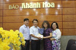 Một việt kiều ủng hộ 50 triệu đồng cho Quỹ Hộp thư từ thiện Báo Khánh Hòa