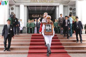Truy điệu và tiễn đưa Trung tướng Đồng Sỹ Nguyên về nơi an nghỉ