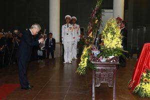 Lãnh đạo Đảng, Nhà nước tới viếng Trung tướng Đồng Sỹ Nguyên
