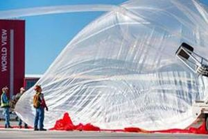 Đưa khinh khí cầu vào không gian - Lo ngại quyền riêng tư?