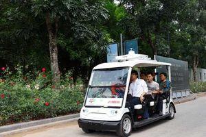 FPT bắt tay Yamaha, Ecopark thử nghiệm xe điện tự lái