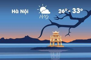 Thời tiết ngày 11/4: Hà Nội ngày nắng 33 độ C, tối mưa rào