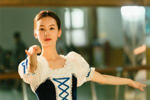 Vẻ đẹp của 'Hoa khôi giảng đường' đóng phim mới cùng Lưu Hạo Nhiên
