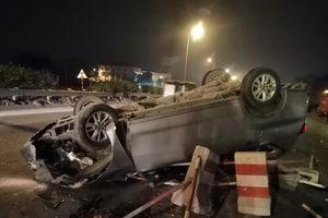 Nguy hiểm rình rập khi di chuyển trên cầu Thanh Trì