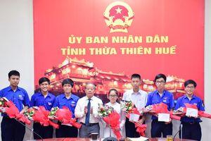 Tuyên dương học sinh tham gia Đội dự tuyển Olympic quốc tế