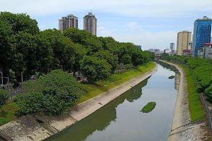 Nhật Bản tài trợ công nghệ làm sạch, giảm mùi nước sông Tô Lịch chỉ trong vài ngày