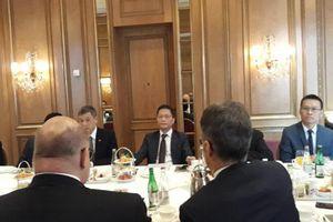 Bộ trưởng Trần Tuấn Anh làm việc với Bộ trưởng Bộ Kinh tế - Năng lượng Liên bang Đức