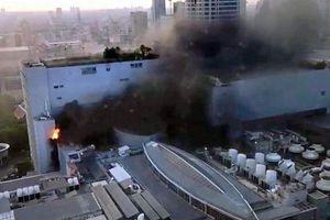Nhân chứng vụ cháy tòa nhà lớn nhất ở Bangkok: Chuông báo cháy không reo