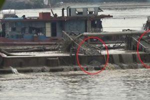 Mượn 'bùa' nạo vét bến khách ngang sông, doanh nghiệp đua nhau rút ruột sông Hồng