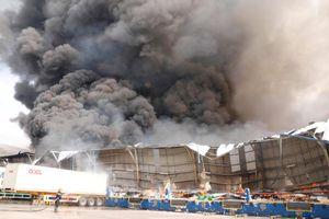 Cháy lớn ở KCN Sóng Thần 2, Dĩ An, Bình Dương