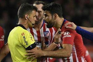 Thóa mạ trọng tài, Diego Costa lãnh án cực nặng