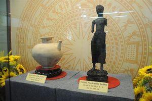 Hai hiện vật văn hóa Óc Eo được công nhận bảo vật quốc gia