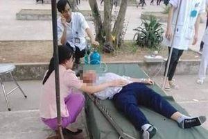 Diễn biến mới vụ nam sinh bị đinh cắm vào đầu trong giờ học thể dục