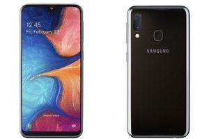 Galaxy A20e ra mắt: màn hình 5,8 inch, sạc nhanh 15W