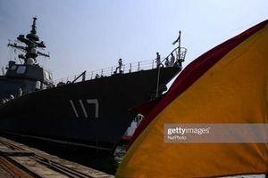 Nhật cử Tham mưu trưởng và một tàu khu trục diễu binh với hải quân TQ