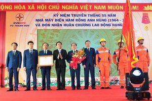 Công ty điện lực Thanh Hóa vinh dự được Chủ tịch nước tặng Huân chương lao động hạng nhất
