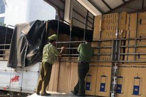 Thu giữ lô hàng nhập lậu vận chuyển từ Bắc vào Nam