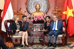 Hà Lan sẵn sàng hợp tác với Tp. Hồ Chí Minh ở nhiều lĩnh vực