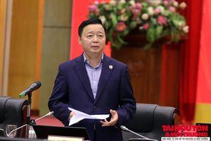 Bộ trưởng Trần Hồng Hà: Cần chủ động thay đổi, sáng tạo, quyết tâm hoàn thành các mục tiêu 'bứt phá'