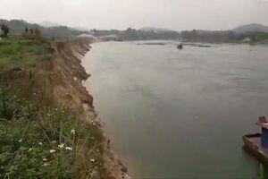 Phú Thọ: Đất nông nghiệp trôi theo tàu cát
