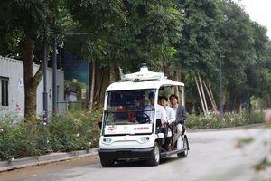 Thử nghiệm xe điện tự hành tại Khu đô thị
