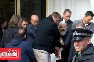 Nhà sáng lập WikiLeaks Julian Assange vừa bị bắt tại Anh