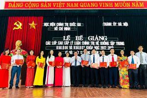 Hà Nội: 178 học viên tốt nghiệp cao cấp lý luận chính trị