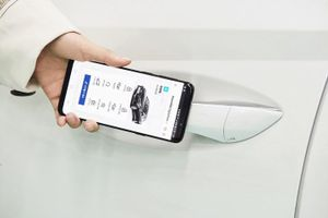 Điện thoại thông minh sẽ thay thế chìa khóa ôtô trong tương lai