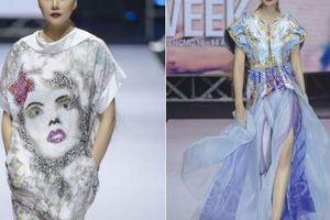 Thanh Hằng trong sắc màu đại dương của 'Alexander McQueen Hàn Quốc'