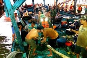 Kịp thời cứu nạn tàu cá cùng 51 ngư dân