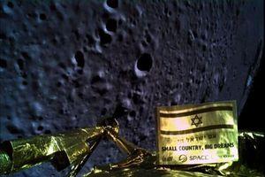 Tàu vũ trụ tư nhân Israel rơi khi đổ bộ mặt trăng