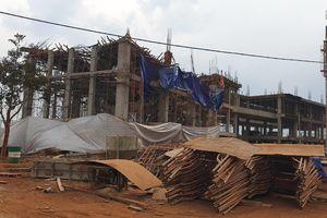 8 người bị thương do sập công trình Trung tâm dịch vụ việc làm tỉnh Đắk Lắk