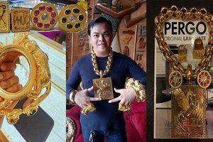 Sự thật bất ngờ về hơn 10kg vàng Phúc XO đeo trên người