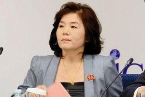 Bà Choe Son-hui giữ chức Thứ trưởng thứ nhất Bộ Ngoại giao Triều Tiên